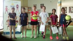Finalistes du tournoi Galaxie verte, Cocc Tennis - juin 2018