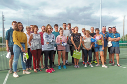 Tournoi de tennis seniors 2018