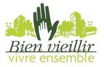"Logo ""Bien vieillir, vivre ensemble"""