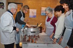 Atelier fabrication de chocolats (archives 2015)