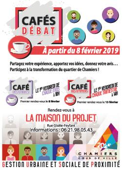 Affiche Cafés débat GUSP
