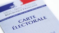 Illustration carte électorale
