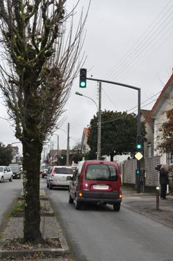 Feux tricolores av de Gaulle