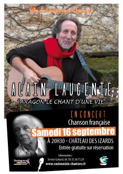 Affiche Alain Laugénie / Aragon
