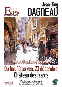 Affiche exposition Jean-Guy DAGNEAU