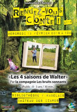 Affiche Rendez-vous Conte 4 saisons de Walter