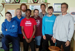 Tennis équipes Ribérac 1 et Cocc 2