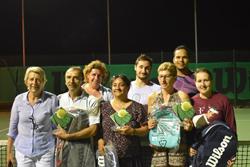 Finalistes tournoi interne Cocc Tennis - juin 2019
