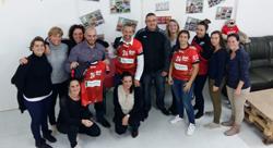 Cocc Handball - remise maillots seniors filles