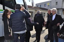 Accueil nouveaux habitants : visite ville en bus