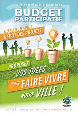 Affiche budget participatif 2021