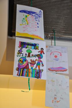 Exposition dessins concours carnaval (archives)