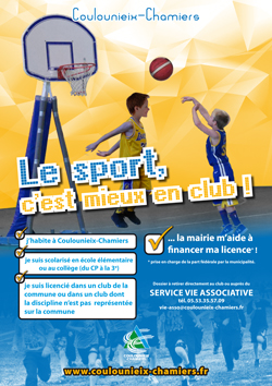 Affiche Sport en club 2019