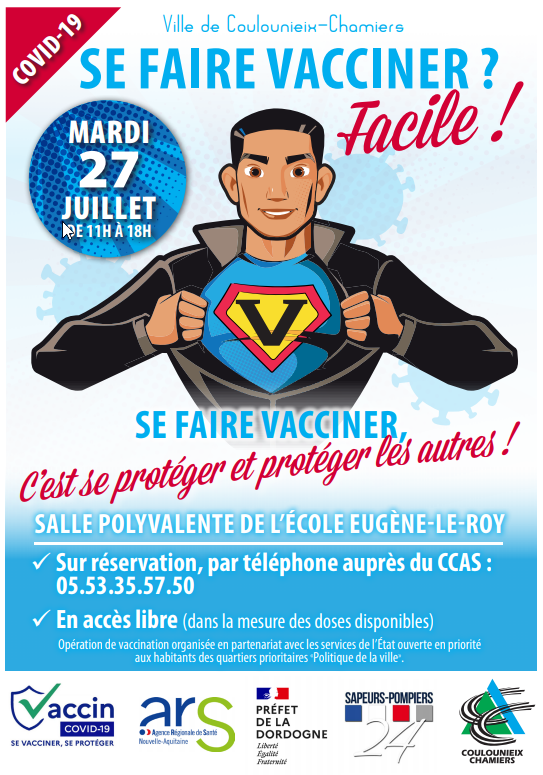 vaccaination 27 juillet