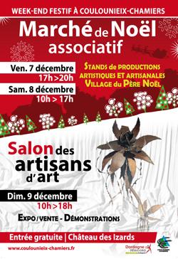 Affiche WE festif Noël 2018