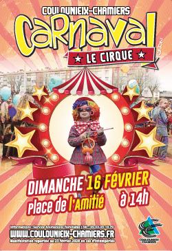 Affiche Carnaval 2020