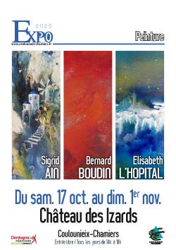 Affiche expo Ain Boudin L&aposHopital