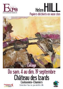Affiche exposition Helen Hill