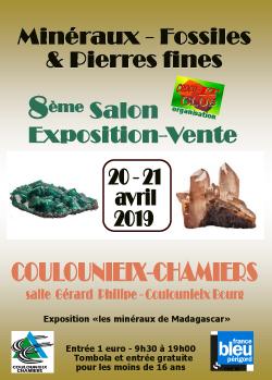 Salon exposition-vente Minéraux