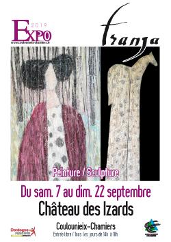 Affiche exposition Franja - septembre 2019
