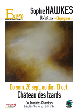 Affiche expo Sophie Hawkes
