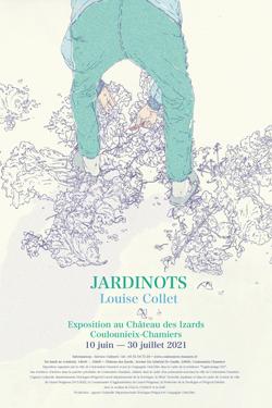 Affiche exposition Jardinots Louise Collet