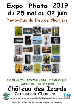 Affiche expo photo-club du Flep