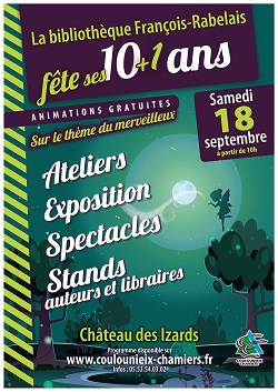 10 ans bibliotheque