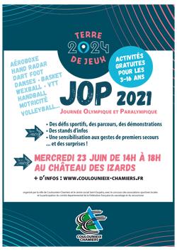 Affiche JOP2021