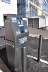 Borne recharge vehicule electrique mairie