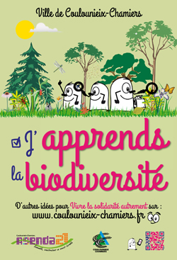 """Affiche """"J&aposapprends la biodiversité"""