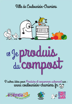 Affiche Je produis du compost