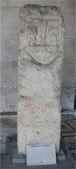 La pierre de Saint-Augûtre