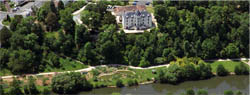 Château des Izards - vue aérienne